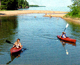 kayak big bay